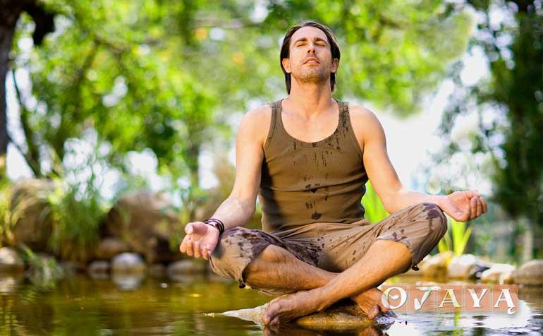 Nature boy refreshes and rejuvenates with OJAYA meditation