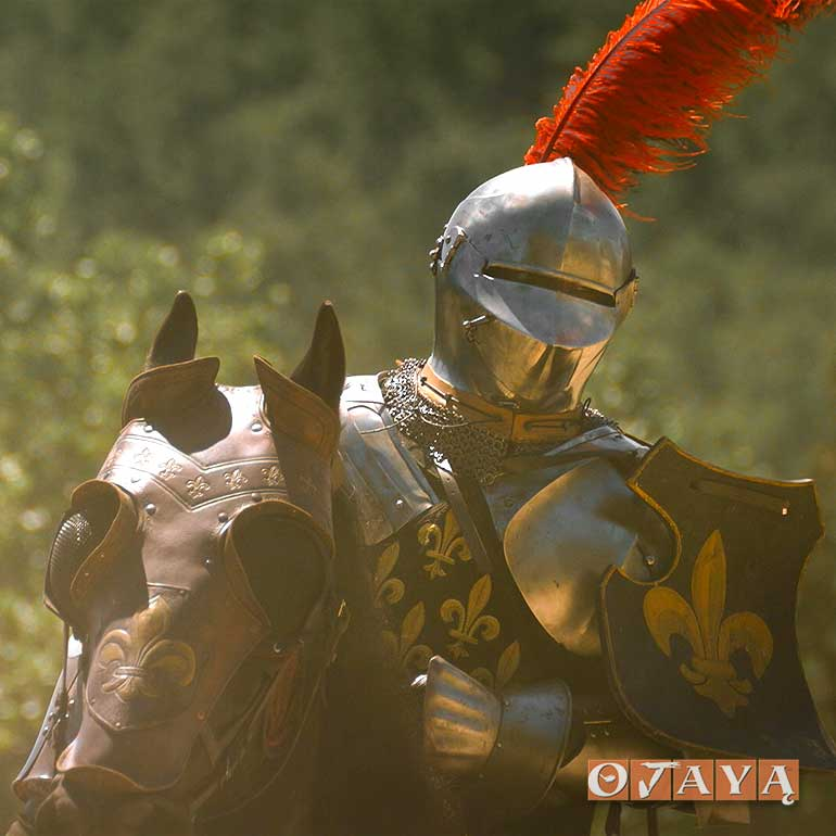 Knight in Kavach Armor