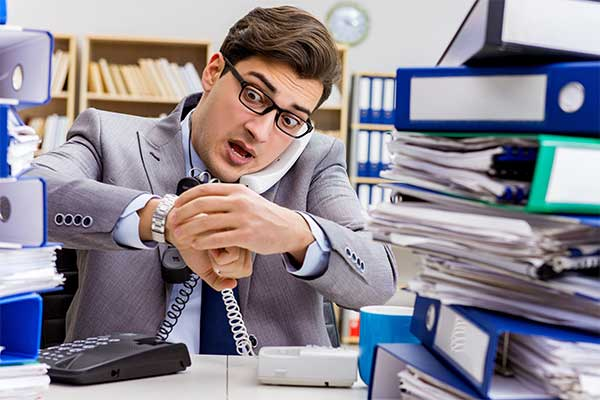 Busy executive is too stressed to meditate