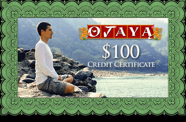 $100 Credit Certificate